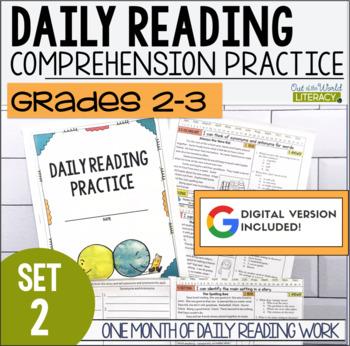 Daily Reading Morning Work Grades 2-3 Set 2
