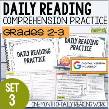 Daily Reading Morning Work Grades 2-3 Set 3 by Jen Bengel | TpT