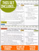 Daily Reading Morning Work: Grades 4-5 Set 10