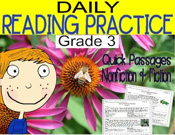 Daily Reading Practice Grade 3 (35 Full Weeks)