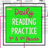 Daily Reading Practice - Part 2  {3rd & 4th Grade}