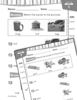 Daily Reading Practice for Kindergarten