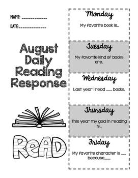 Daily Reading Response Mega Bundle