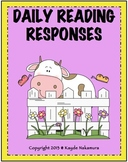 Daily Reading Responses - August to May