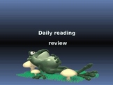 Daily Reading Review