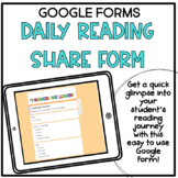Daily Reading Share Form
