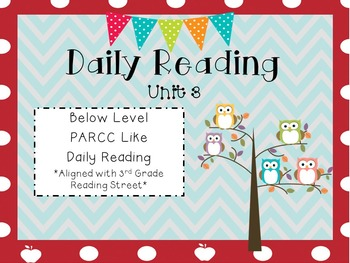 Daily Reading Unit 3