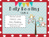 Daily Reading Unit 4