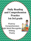 Daily Reading and Comprehension Practice (1st-3rd grade)
