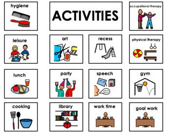 Daily Recall/Parent Communication File Folder Activity- EDITABLE