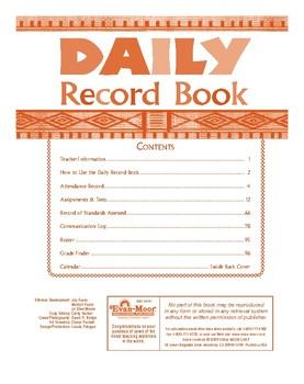 Daily Record Book, Safari Edition