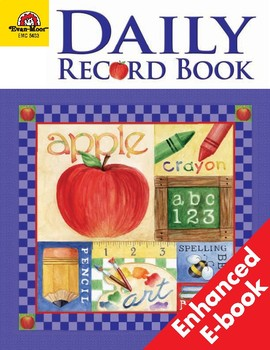 Daily Record Book, School Days Theme