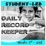 Daily Record Keeper Grades 5-12