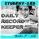 FREE: Daily Record Keeper Grades 5-12