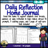 Daily Reflection Home Journal