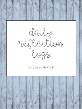 Daily Reflection Logs