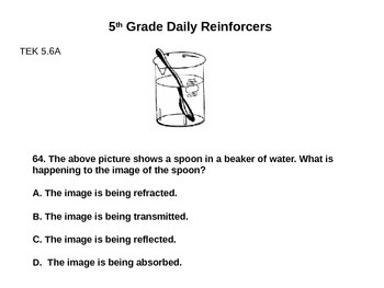 Daily Reinforcers 61-70 (science)