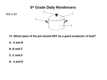 Daily Reinforcers 71-80 (science)
