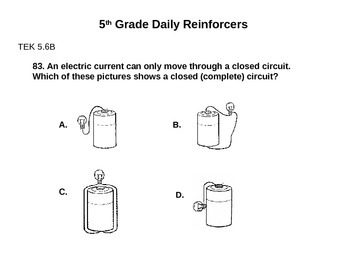 Daily Reinforcers 81-90 (science)