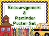 Daily Reminder & Encouragement Poster Set