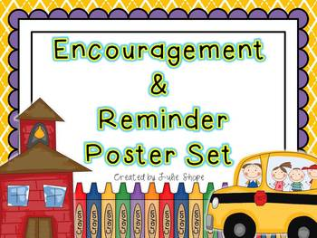 Daily Reminder & Encouragement Poster Set