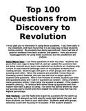 Daily Review and Warm Ups Part 1 - 100 History Questions