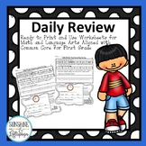 Morning Work: Daily Review Activities to Use Anytime Ready