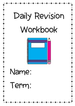 Daily Review Booklet Term 2