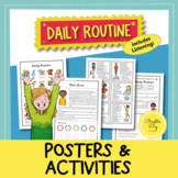 Daily Routine | Adverbs of Frequency | Posters and Activit