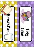 Kindergarten Daily Routine Cards
