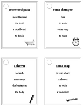 Daily Routine - ESL - ELL Taboo Speaking Game