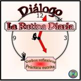 Daily Routine Mini-Dialogue and Worksheet Activities - Mini-Diálogo Bilingüe