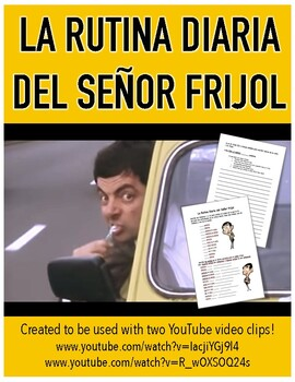 Daily Routine Mr. Bean Video Activty