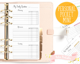 Daily Routine Printable Planner Insert