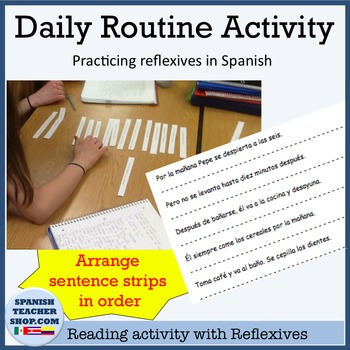 Daily Routine Reflexive Activity