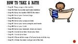 Daily Routine-Step-by-Step-Take A Bath-Dry Off