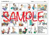 Daily Routine Storyboard- La rutina diaria (Realidades 2 Ch. 2A)