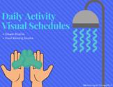 Daily Routine Visual Schedules:  Hand Washing & Showering