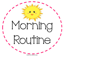 Daily Routine Visuals for Children (Home Use)