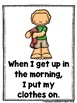 Daily Routines  (A Sight Word Emergent Reader Bundle....Te