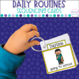 Daily Routines- Cards and Activities