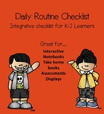 Daily Routines Checklist