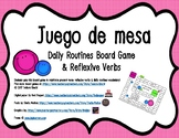 Daily Routines & Reflexive Verbs Board Game