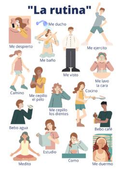 Daily Routines Spanish