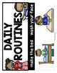 Daily Routines Vocabulary Activities for Beginning ELLs