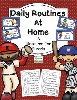 Daily Routines at Home Baseball Hero