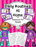 Daily Routines at Home Super Hero
