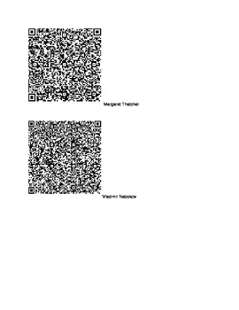Daily Routines of the Famous&Successful Spanish scavenger hunt using QR codes