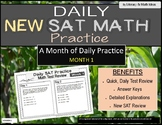 Daily (New) SAT Math Practice (Month 1)