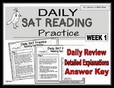 Daily SAT Reading Practice Week 1
